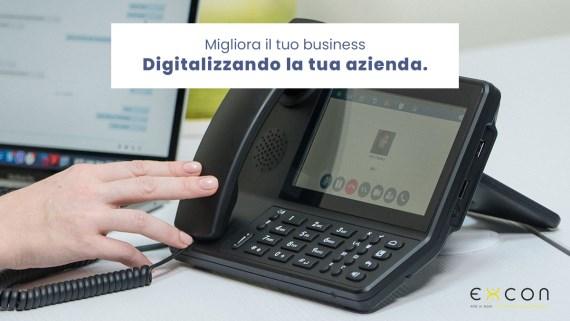 Digitalizzazione: la chiave per migliorare il tuo business.